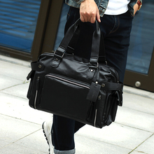 2016 new business classic men's shoulder bag man bag trend handbags Messenger cross-casual travel computer bag