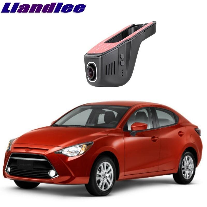 Liandlee For Toyota Yaris R DY DE DJ 2002~2018 Car Black Box WiFi DVR Dash Camera Driving Video Recorder цена