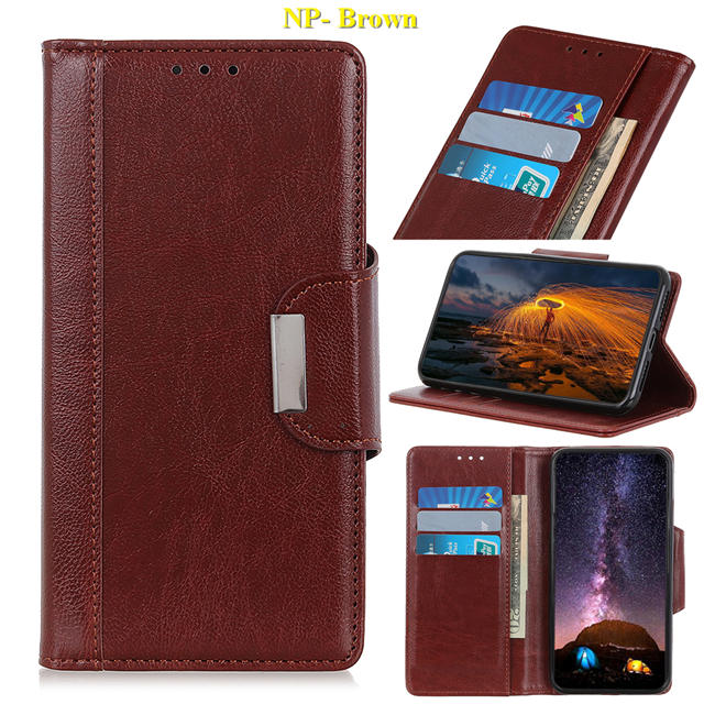 Business Magnetic Leather Wallet Case for iPhone 11/11 Pro/11 Pro Max 11