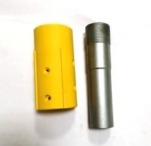 цена на HOLDWIN high pressure 1 1/4'' fine thread B4C carbide Venturi sandblasting nozzle with yellow nylon nozzle holder