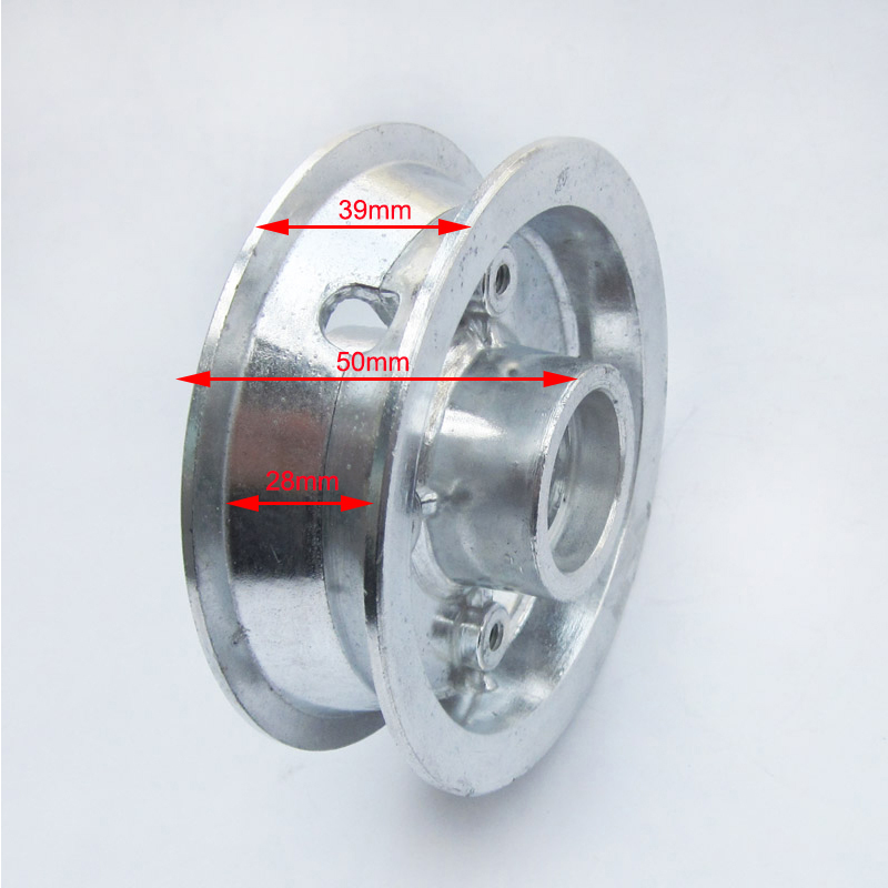 Wheel Hub / Rim Set fit 200X50 Tire for 8 Inch Front Wheel Dolphin Electric Scooter