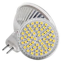 MR16 LED Bulb 5W 3528 60SMD Warm White Tube Light 300LM Lamp Spotlight