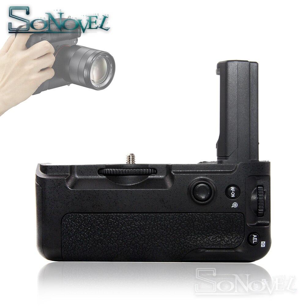 VG-C3EM VGC3EM Batterie Vertical Holder Grip pour Sony A9 A7RIII A7III A7M3 A7R3 DSLR Caméras pour NP-FZ100 batterie
