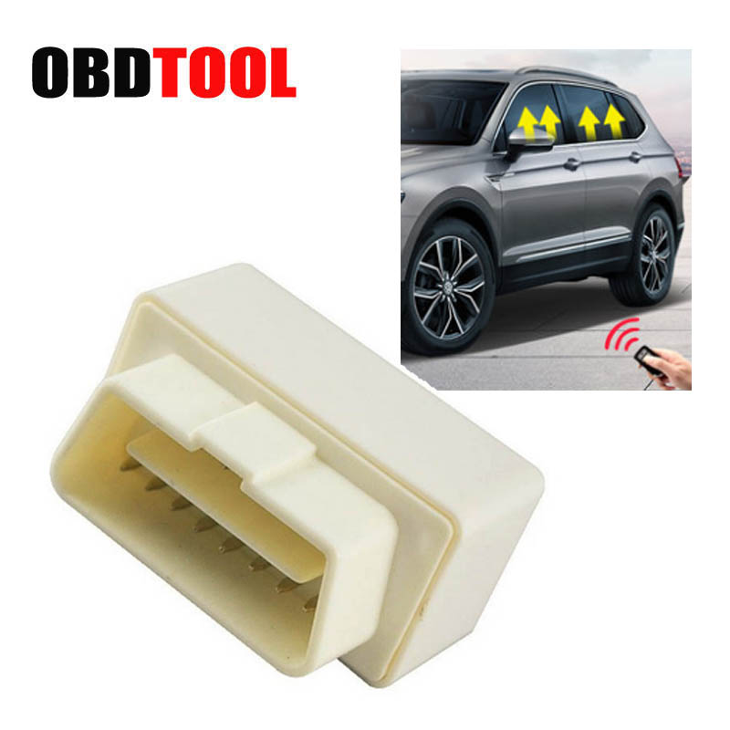 New Auto Window Closer Device OBD Canbus Plug Play Folding Mirror Module Car Power Window Roll Up Closer For B-7 CC  Vehicle