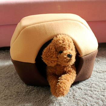 Foldable Winter Cat Bed  2