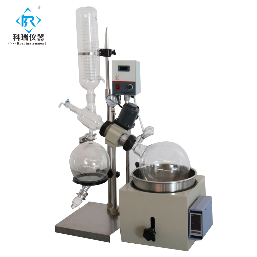Lab glass vacuum essential oil distillation apparatus W water bath for heating /evaporador rotativo rotary evaporator RotovapeLab glass vacuum essential oil distillation apparatus W water bath for heating /evaporador rotativo rotary evaporator Rotovape