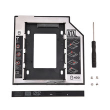 2.5in SATA I II III HDD disco duro interno CD/soporte para Lenovo DVD-ROM/Samsung/SONY 2018(China)