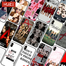 Fashion Cover Coque For iPhone 7 Case Soft TPU Silicone Luxury X XS 8 6 6s Plus Pretty Little Liars Phone