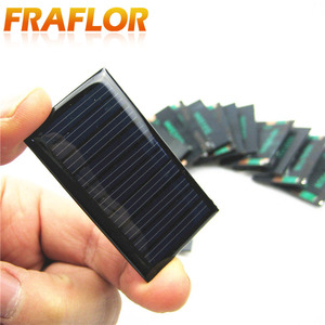 Image 2 - 100 قطعة/الوحدة شحن مجاني بالجملة 5 فولت 30mA 53*30 مللي متر الخلايا الشمسية مصغرة الألواح الشمسية لتقوم بها بنفسك 3.6 فولت شاحن البطارية التعليم أطقم