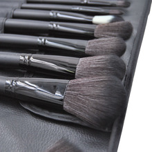 24pcs Makeup Brushes Set Wooden handle Cosmetics Tools Beauty Kit Eyeshadow Powder Brush PU Bag Black Soft Good Make up Brushes