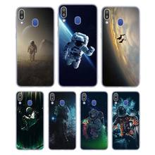 Silicone Case Spaceman Astronaut for Samsung Galaxy Note 8 9 M30 M20 M10 S10 S9 S8 Plus Lite S6 S7 Edge Cover