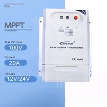 Trazador 2210CN 20A Mppt Solar Charge Controller 12 V/24 V Auto Regulador de Carga de Batería Del Panel Solar con La Luz y Controlador de Tiempo