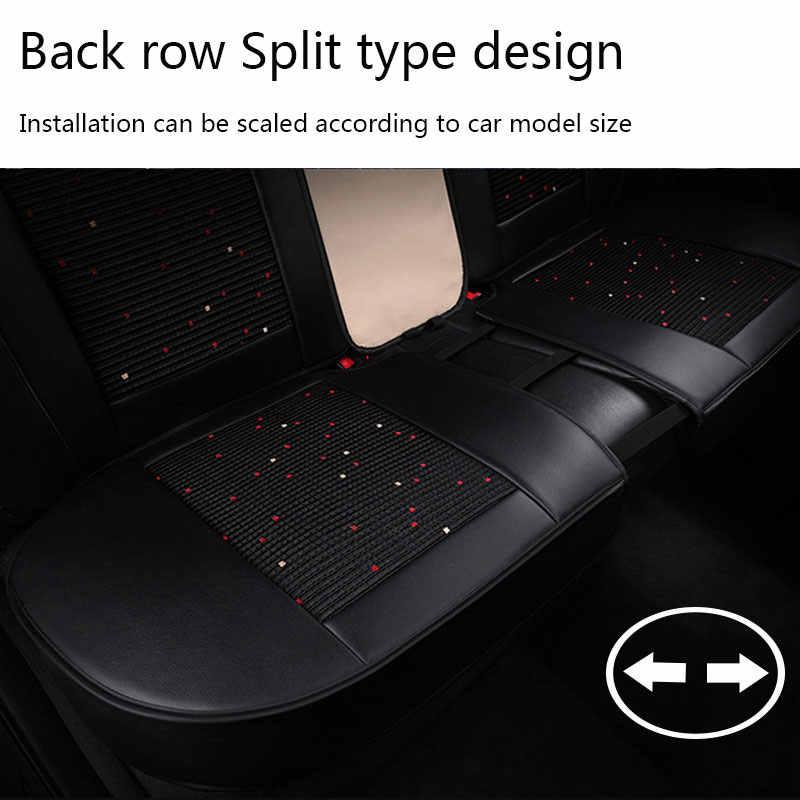 (Frente e traseira) tampas de assento do carro almofada de couro almofada automóvel para o benz w245 mercedes w222 w460 B250 cs75 cs35 changan zotye t600