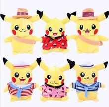 6psc HOT SALE baby kids toy 20cm Pikachu stuffed dolls High Quality Very Cute Pikachu Plush