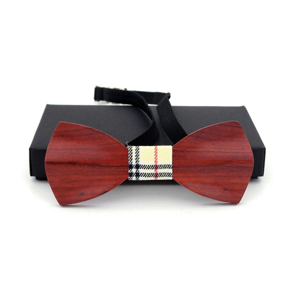 Men Women Wood Bow Tie 3d Handmade Butterfly Wood Classic Wooden Bow Ties Neckwear Wedding Party Neckties Wooden Ties