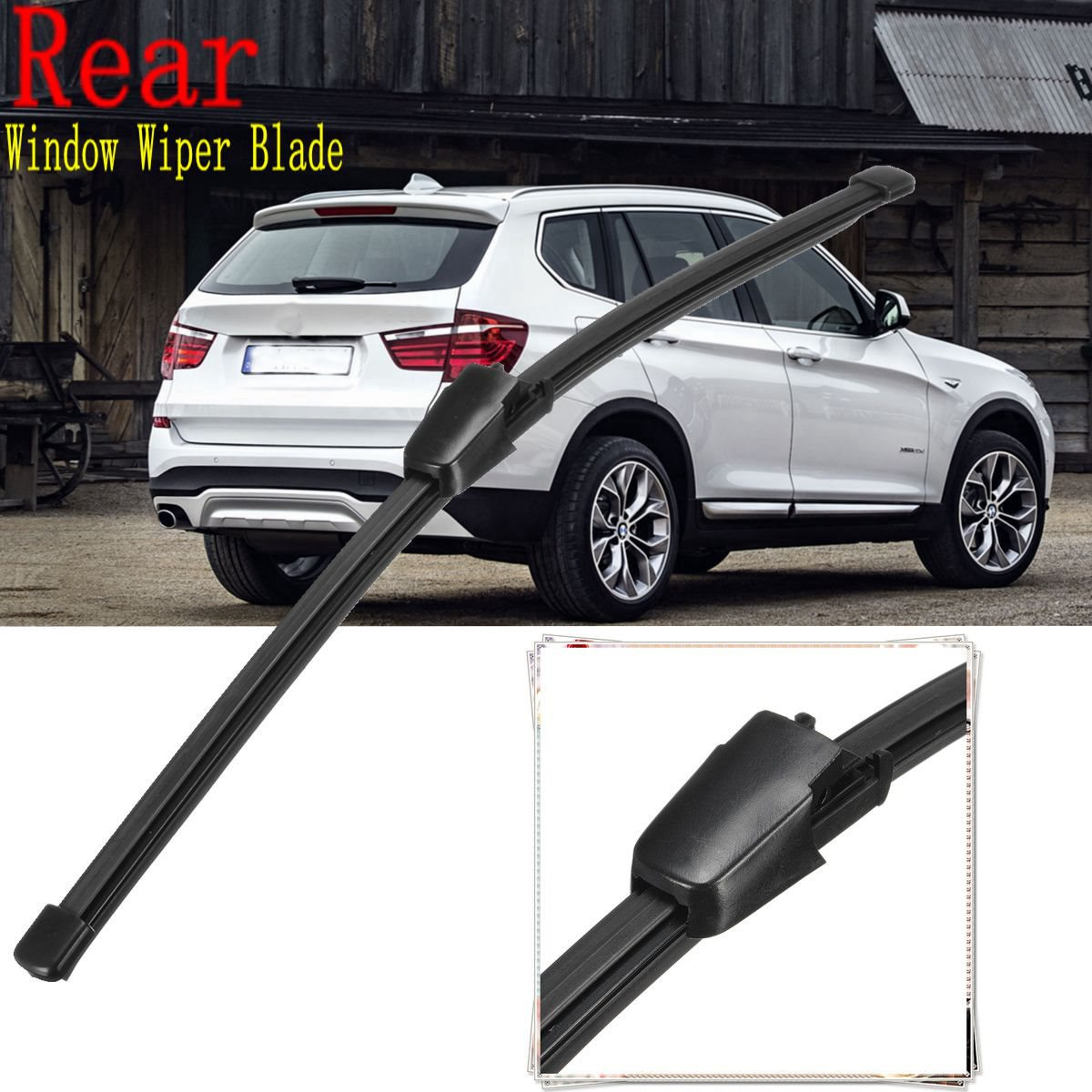 13inch rear window wiper blade for bmw x3 f25 vw tiguan polo 9n golf v