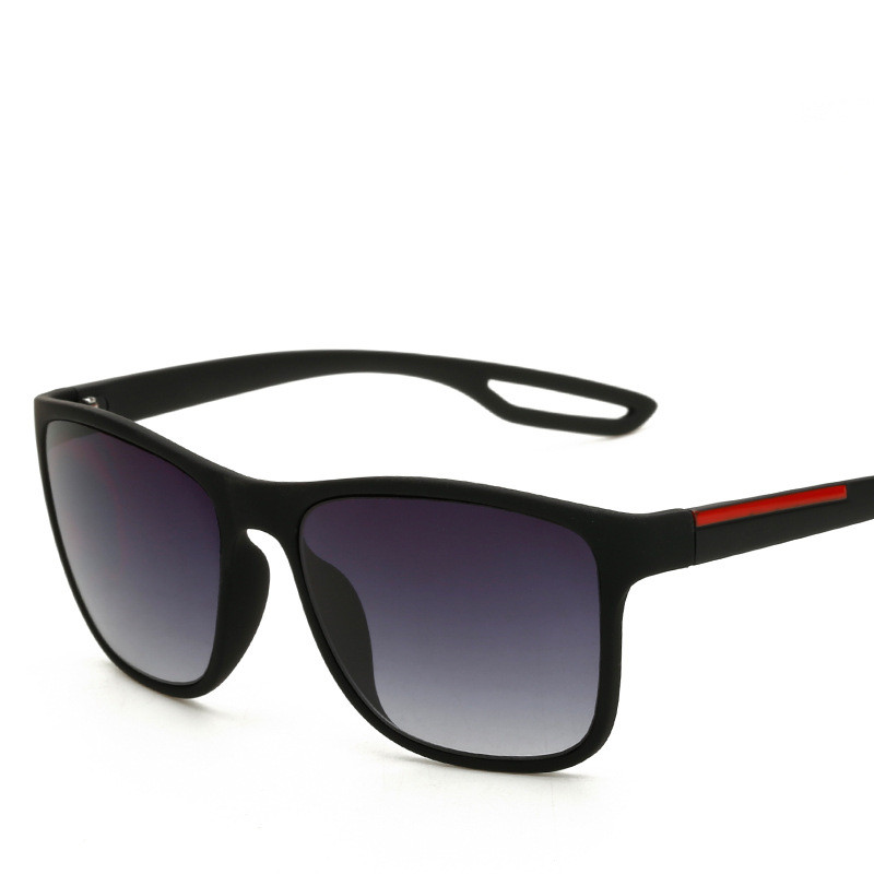 High Quality Square Sunglasses Men Brand Design Goggle Retro Outdoor Vintage Male Sun Glasses For Men 1