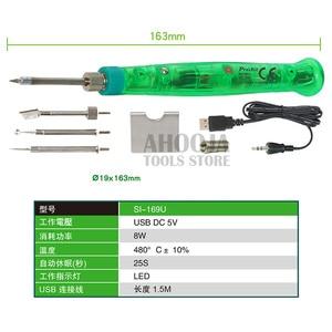 Image 5 - Proskit SI 169U conjunto de ferro de solda, kit de ferramentas 3d para manutenção de solda estampa 3d