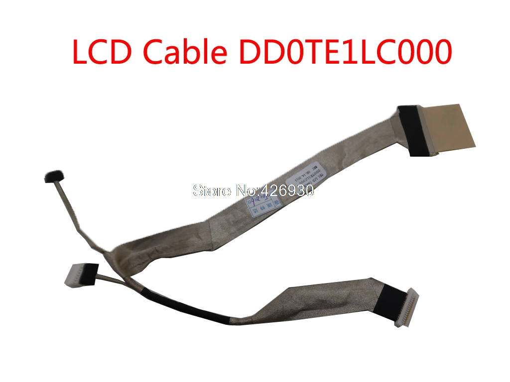Cable Length: Cable DD0TE1LC000 Computer Cables Laptop LCD LVDS Cable for Toshiba for Satellite M300 L310 DD0TE1LC000 with Camera FBTE1022010 FBTE1021010 KSB0505HA-7K99