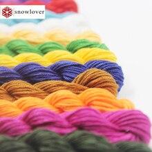 Snowlover, рукоделие ремесел 10 шт./лот 1,2 м Multicolors вариант DMC3849-ECRU вышивки крестом хлопчатобумажные Швейные Мотки Вышивка Нитью