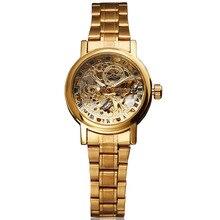 Winner Fashion Brand Woman Female Clock Elegant Business Skeleton Automatic Mechanical Sport Luxury Wrist Dress Gift Watch 8300