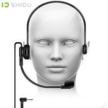 Máy Trợ Giảng Shidu Thương Hiệu S5 Lavalier Microphone Condenser Tay Lửng Mic Cho Di Động Khuếch Đại Giọng Nói Loa Hội Nghị Giáo Viên Loa