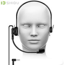Shidu marca s5 lavalier microfone condensador megafone mic para portátil amplificador de voz alto falante professores conferência