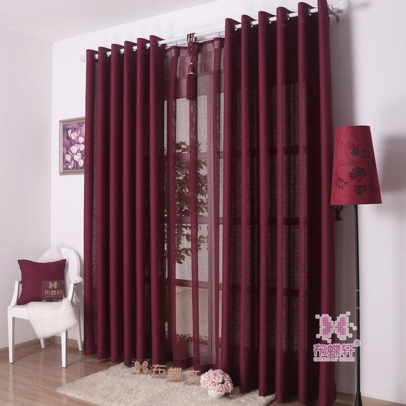 Bonito Pano O Ver A Traves De Tulle Para La Cortina Simplicidad - Ver-cortinas