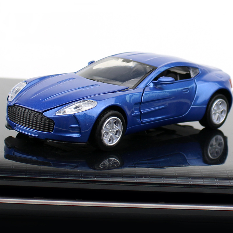 1:32 Diecasts Toy Vehicles Hot Wheel Machine Aston Martin Ferraeri Sports Car Model With Car Hot Wheel Doors Can Be Opened Toy
