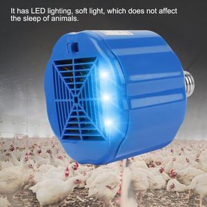 Image 2 - 100 300W Chicken Heating Lamp Animal Warm Light Heater Cultivation Heating Lamp for Pet Chicken Livestock Heat Lamp Lighting