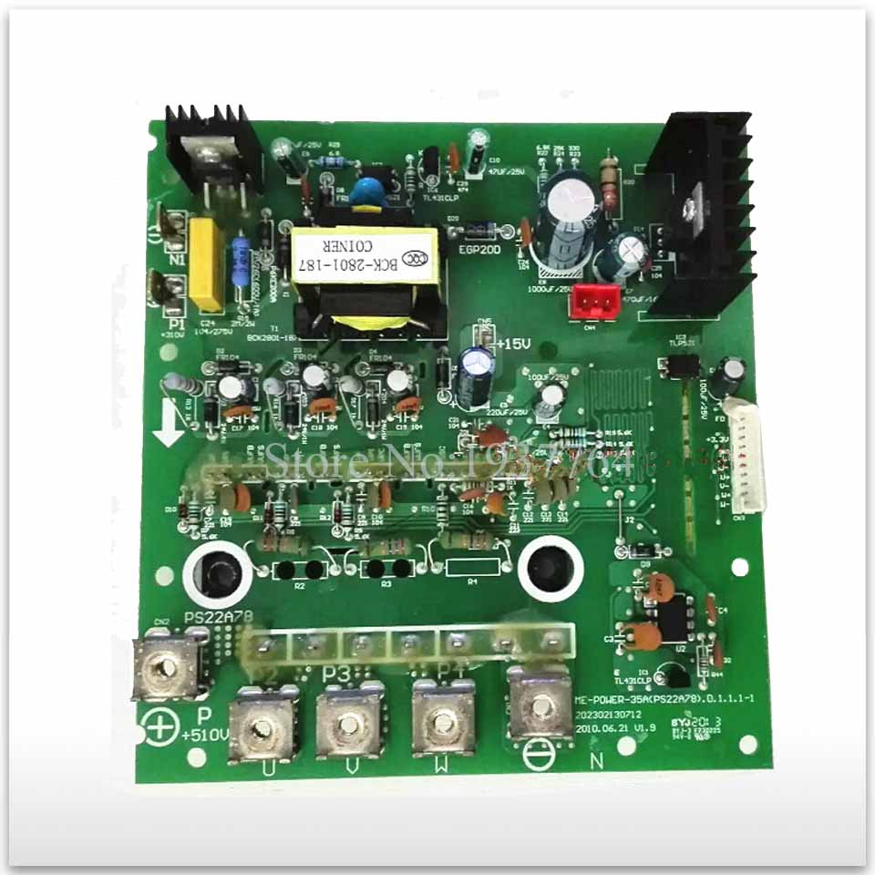 90% new Air conditioningFrequency conversion module board ME-POWER-35A(PS22A78) ME-POWER-35A good working good me bad me