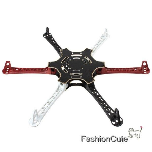 RC F550 Hexacopter FPV Hexa вертолет рама Поддержка APM PIX/KK/МК/MWC для DJI Flamewheel F550 HJ550