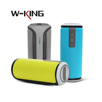 W King Super Bass Outdoor Portable Bluetooth Speaker 4.0 IPX4 Waterproof Wireless stereo sound box with DSP Noise Reduction Mic