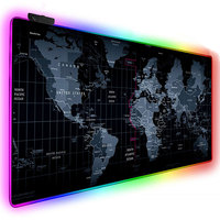 pc עם RGB משטח העכבר משחקים גדולים משטח העכבר גיימר XXL מחשב שטיחי עכבר לד ביג עכבר מאט מקלדת שולחן כתיבה PC Mause Pad עם תאורה אחורית (1)