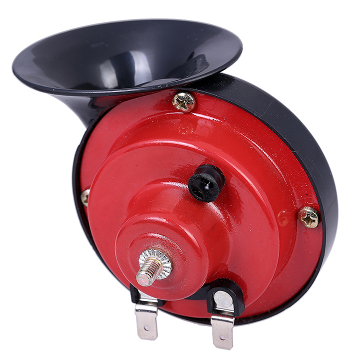 Freies Verschiffen 1 para 12 V Schnecke Form Auto Horn Lauter Auto Auto Lkw Elektrofahrzeug Horn Sound Level 110dB 0812