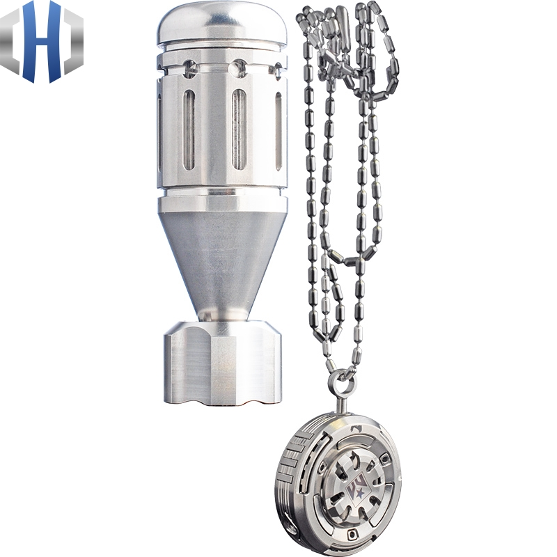 Купить с кэшбэком Titanium Alloy Fingertip Gyro Mini Titanium Flywheel Armor Finger Spiral Set Adult EDC Toy
