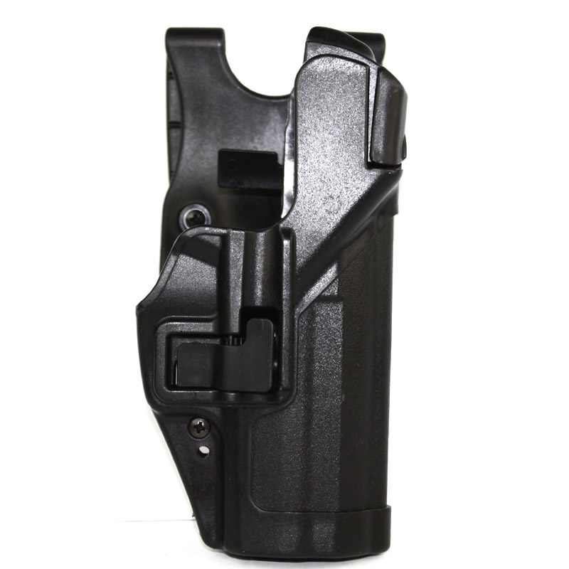 Level 3 Serpa Light Bearing Duty Holster Plain Black Right Hand For S&W M&P 9mm/.40 Free shipping