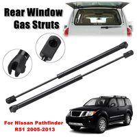 2pcs Rear Window Glass Gas Struts Support Sring For Nissan Pathfinder R51 2005 2013 90460ZL90A