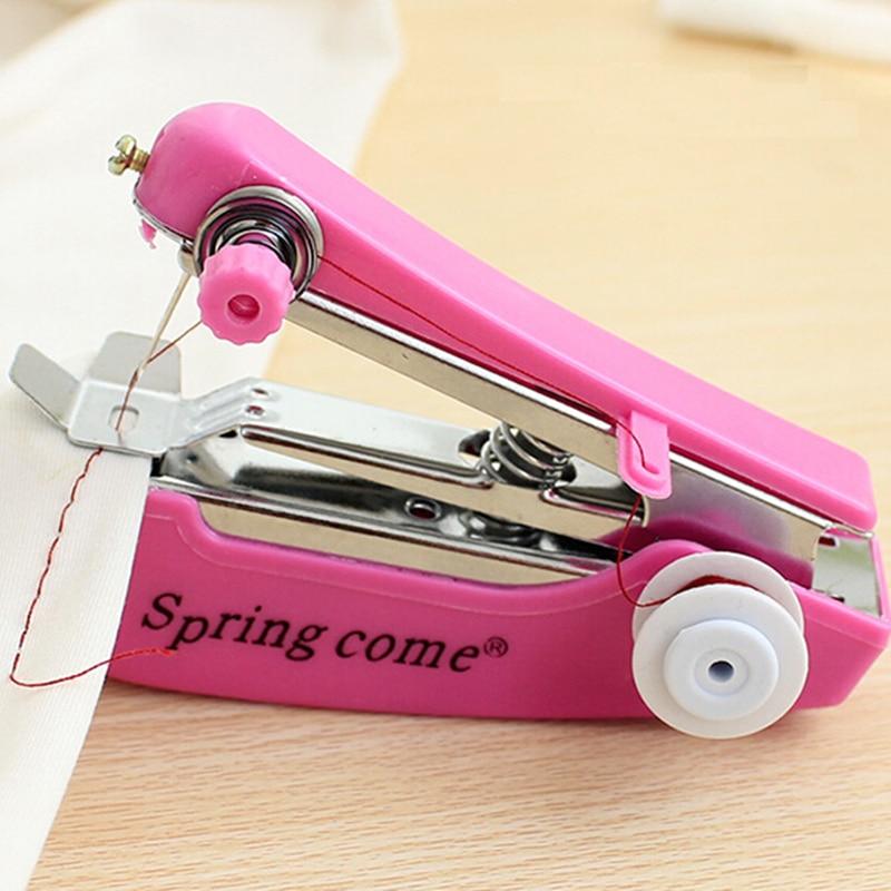 portable manual walking foot sewing machine needlework cordless hand