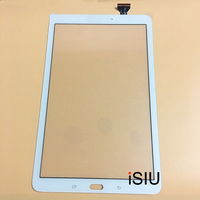iSIU For Samsung Galaxy Tab E Touch Panel With Digitizer T560 T561 Tablet Touch Screen Sensor Glass Black White NO LCD DISPLAY