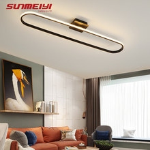 Post Modern LED Ceiling Lights Dimmable Living room Bedroom Office Corridor Hall Lighting Surface Mounted Ceiling Lamp sufitowa ceiling lights modern minimalist style iron round led living room ceiling lamp bedroom entrance hall balcony corridor lighting