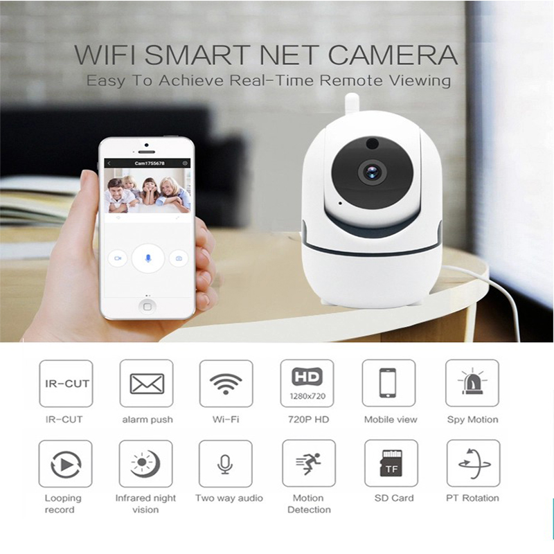 2.0MP HD Smart Home Security Mobile APP Remote Control PTZ