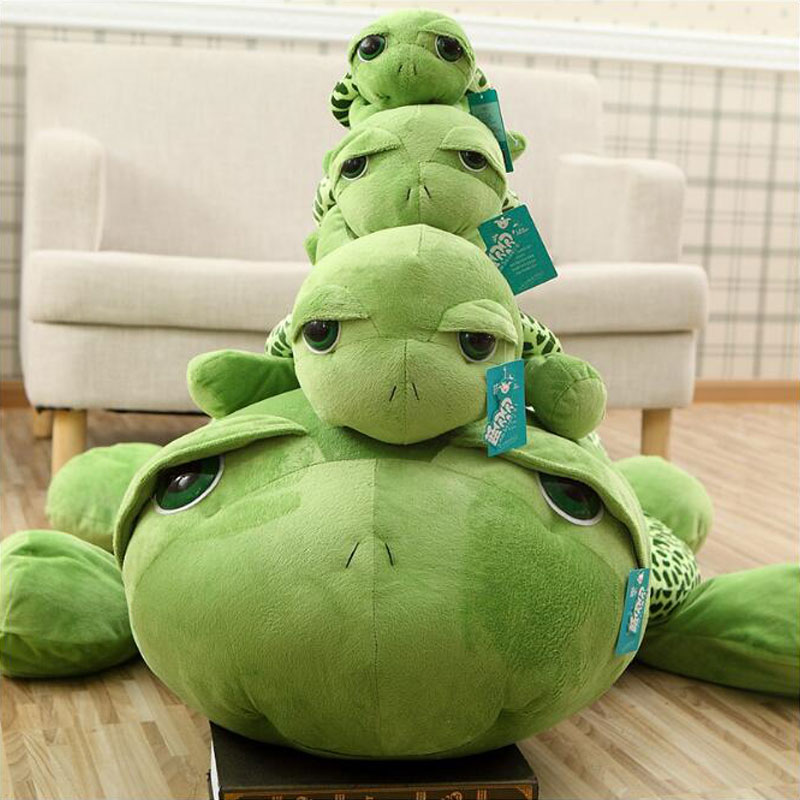 Kawaii 150cm Lovely Turtle Dolls Plush Stuffed Toys Pillow Birthday Gift Cushion Fortune Tortoise Doll Pusheen Plush Toys NEW 2015 kawaii biscuits cats 40 30cm cute stuffed animal plush toys dolls pusheen shape pillow cushion for kid home decoration