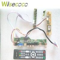 TV+HDMI+VGA+AV+USB+AUDIO TV LCD driver board 17 LP171W01 LP171WP4 LP171WX2 LTN171WX2 1440 * 900 LCD controller board DIY kits