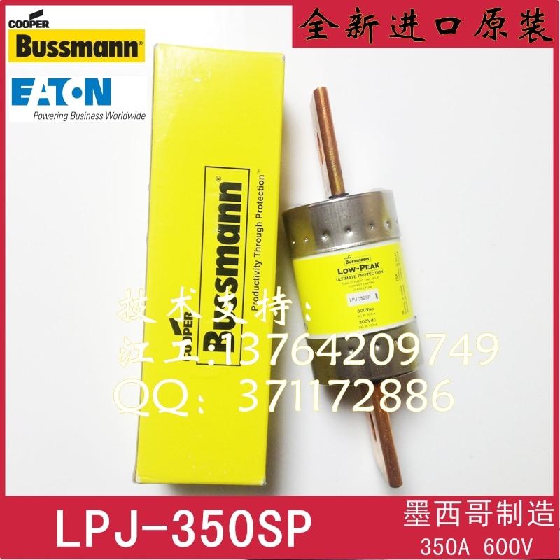 [SA]United States BUSSMANN fuse LOW-PEAK fuse LPJ-350SP 350A 600V 300V original roland sp 540v flj 300 sp 300v sp 540v servo board 7840605600