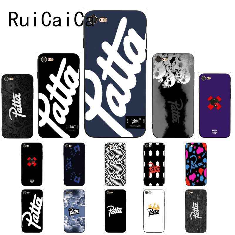 Ruicaica duch street fashion patta Custom Photo мягкий чехол для телефона чехол для iphone 8 7 6 6 S 6 Plus X XS MAX 5 5S SE XR Fundas Capa