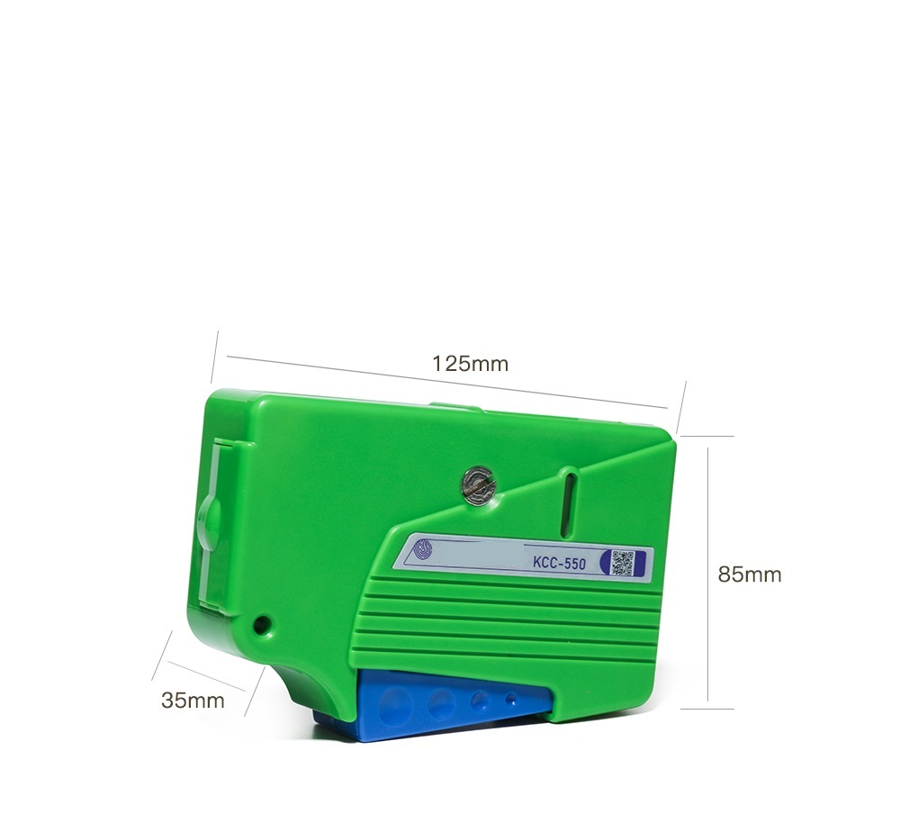 Image 3 - Fiber end face cleaning box, fiber wiping tool, pigtail cleaner, cassette fiber cleaner,Fiber Optic Cleaner-in Fiber Optic Equipments from Cellphones & Telecommunications