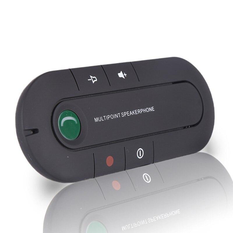 Auto Bluetooth 4,1 version hände-freies telefon Bluetooth receiver musik player sonnenblende EDR carless kit aux bluetooth