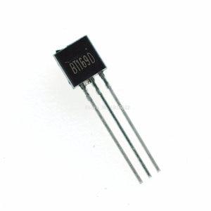 50 pçs/lote BT169D BT169 TO-Triacs Tiristor SCR 400 V 9A 92 3-Pin SPT Novo