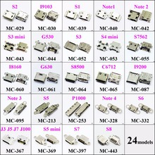 ChengHaoRan 1pcs Micro USB Connector Socket Charging Port for Samsung NOTE3 S8500 G630 I8160 S7562 S3 I9300 S2 S6 5 4